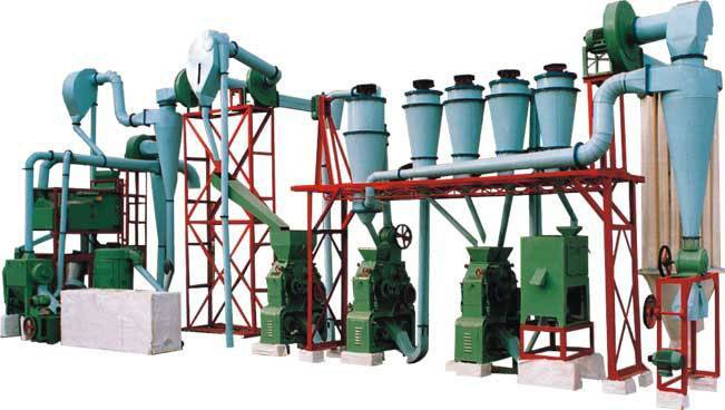 grain processing and flour mill equipment,cereal milling machine