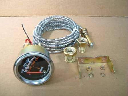 Utrema Auto Mechanical Water Temperature Gauge 2-1/16""