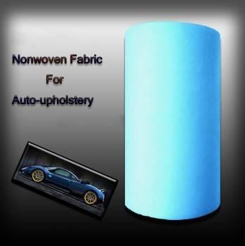 "100% polyester spunbond Nonwoven fabrics,white color,126"",ecofriendly"