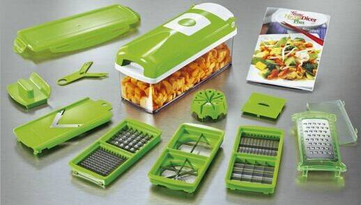 Multi-functional vegetable slicer and chopper dicer