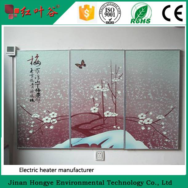 White Far Infrared Electric Panel Heater with CE RoHs Approved