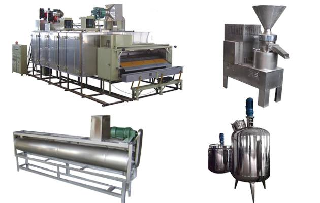 Peanut Butter Production line(300 kg/h)