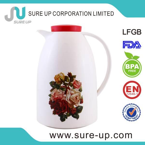heat resistant glass tea carafe
