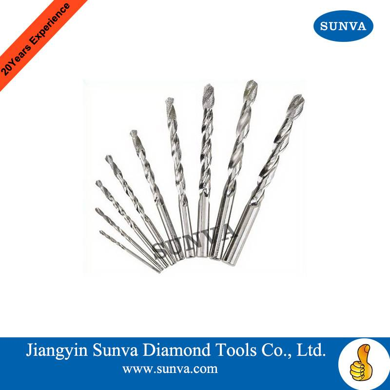 SUNVA Diamond Coated Twist Drill Bits / Diamond Tools