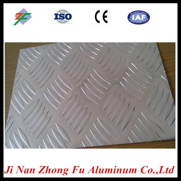 chinese factory five bar aluminum tread plate