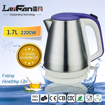 High quality electric water kettle with temperature control