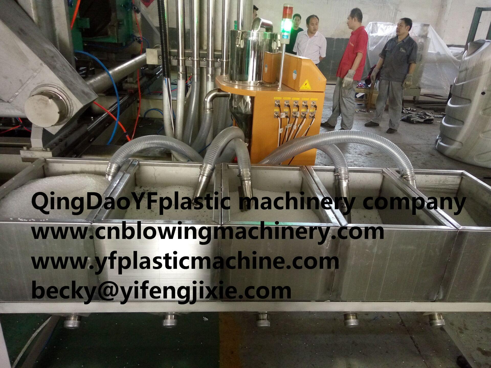 5layers 500-1500L water tank blowing machinery