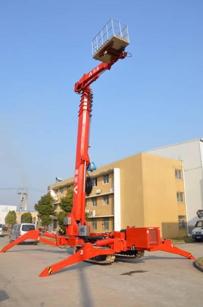 Crawler mounted 53m