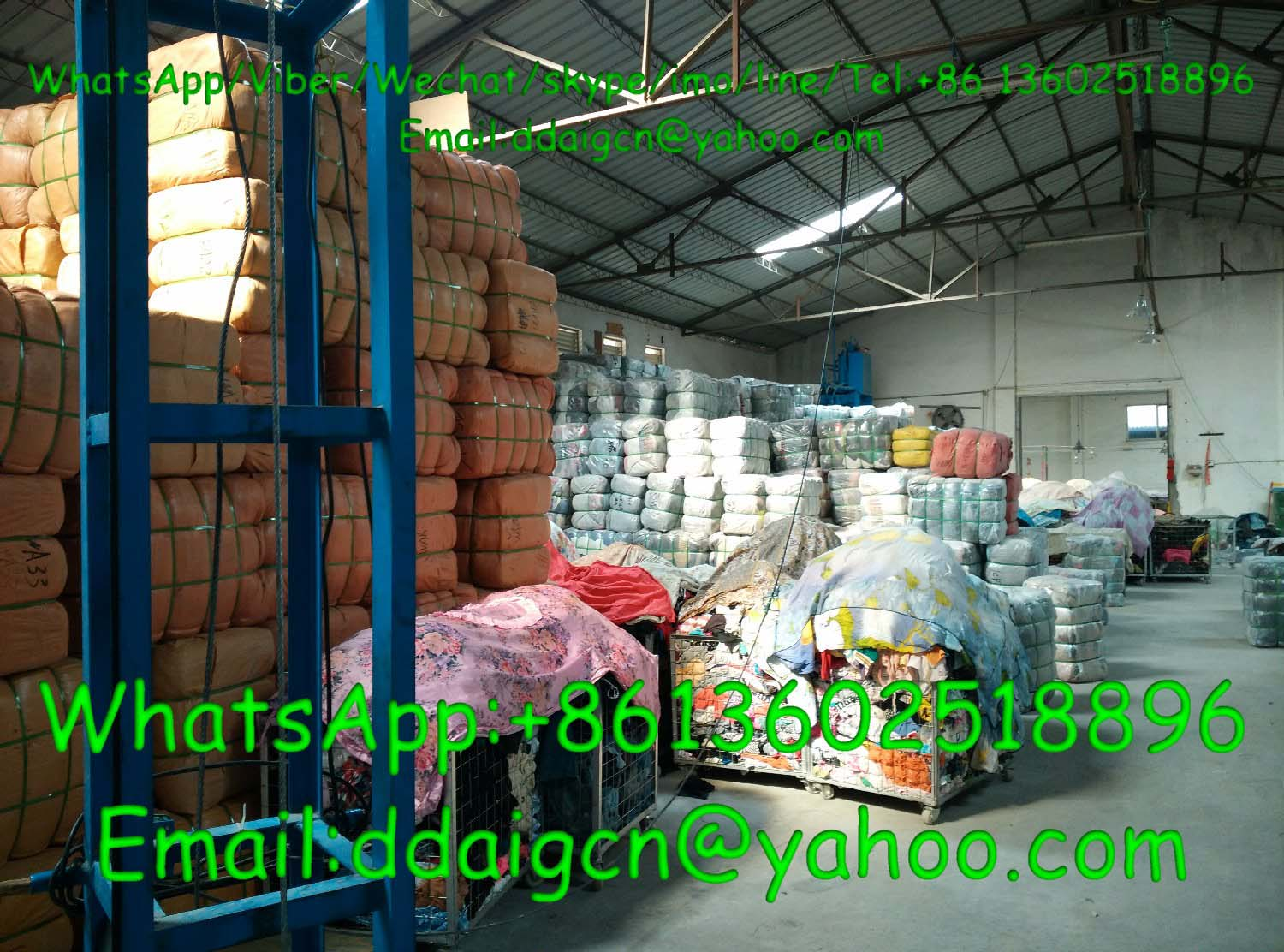 Used Clothes Bales