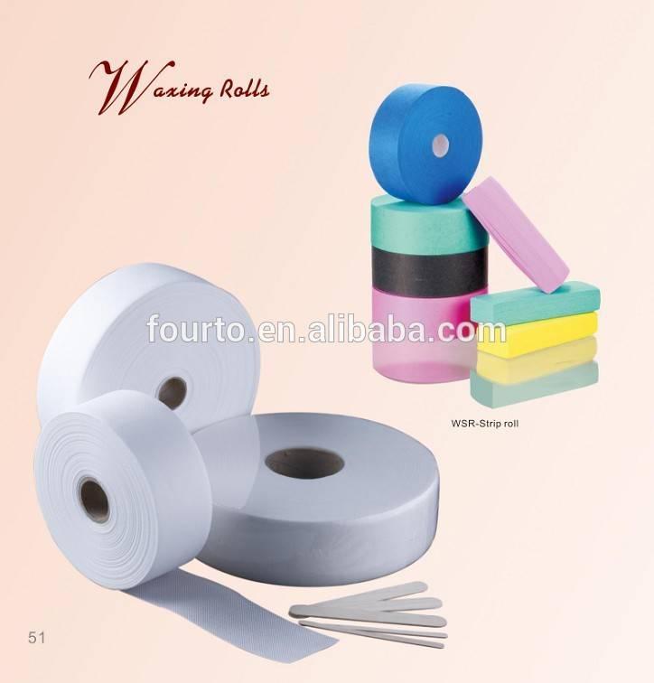 high quality disposable wax strip wax roll
