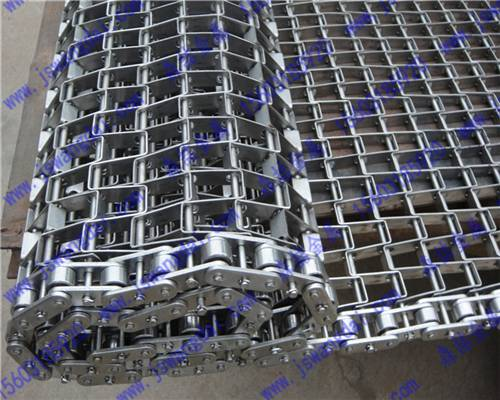 stainless steel honeycomb flat wire conveyor belt