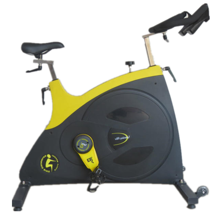 Spinning bike with belt driven system