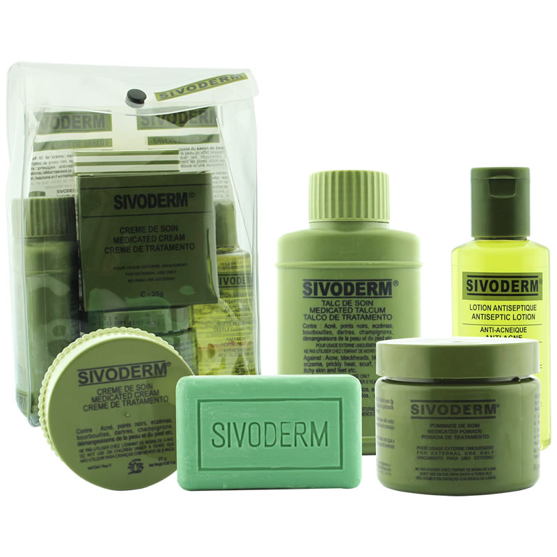phisoderm,Sivoderm For Acne, Spots, Eczema Products