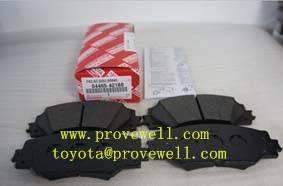 brake pads for Toyota RAV4 OEM: 04465-42180