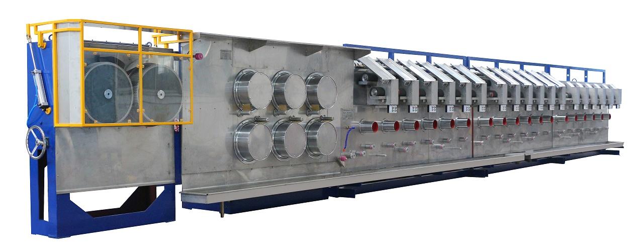 RPSF polyester staple fiber machine