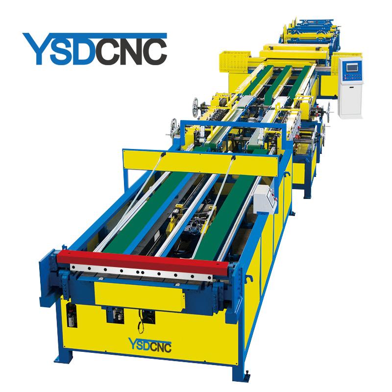 Good quality hvac air duct production machine line 5