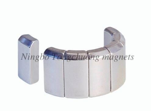 Strong NdFeB magnet for motor