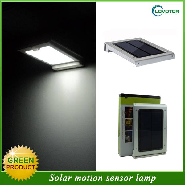 Outdoor Waterproof Solar Power Motion Sensor Garden Security Lamp