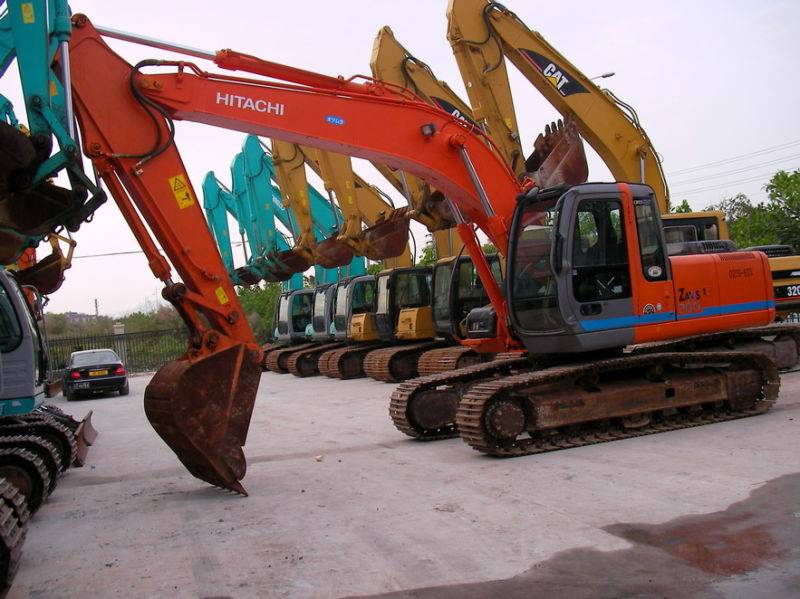 Used excavator HITACHI ex200-6