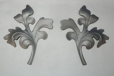 Cast steel leaf
