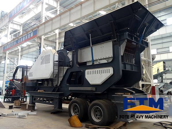 Mobile Cone Crushing And Screening Plant/47Mobile crusher/Mobile Concrete Crusher Sale