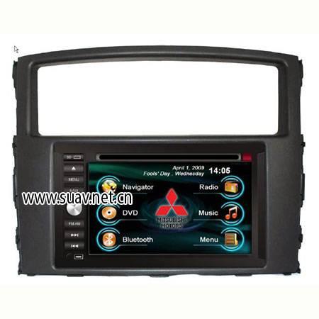 Mitsubishi Pajero/MOUTERO in Car entertainment system DVD Player GPS navi TV