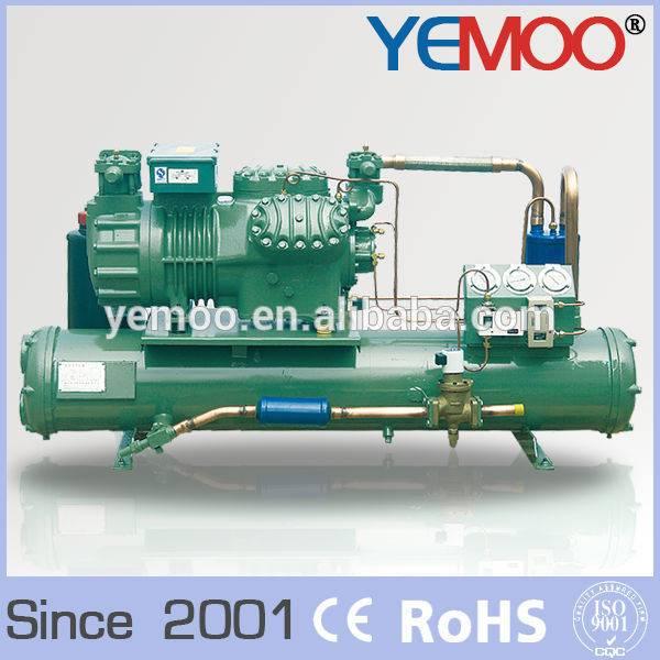 Hangzhou Yemoo Bitzer Copeland 25hp water cooled cold room condenser unit