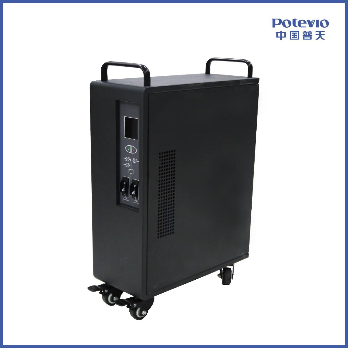 Online UPS IP 2KVA- 15KVA industry frequency input 110v / 120v 50 Hz for industry, medical equipment
