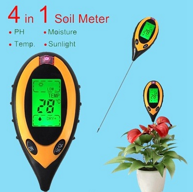4in1 soil ph meter