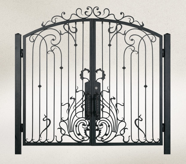 Iron Gate for sale and driveway car stainless aluminium