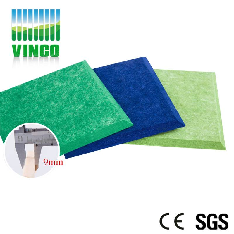 Dazzle color hot stamping stripes of polyester fiber board