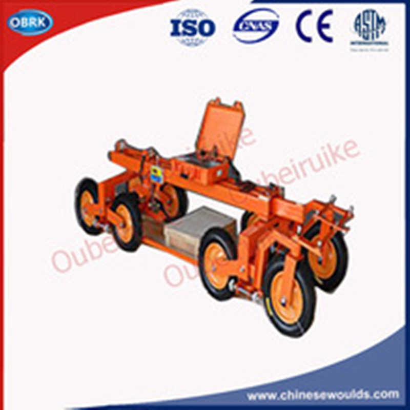 Visual Interface Continuous Eight wheels Pavement Evenness Tester