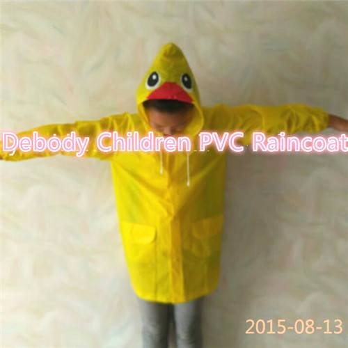 Yellow Children Raincoat