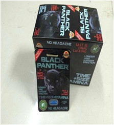 Black panther Herbal Sex Capsule Male Sexual Enhancement Pills
