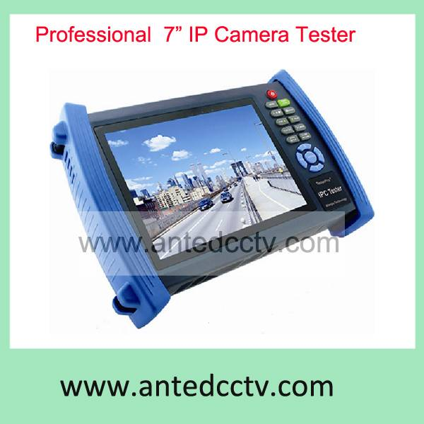 Handheld 7 inch IPC Tester Tool,Multi-function hybrid CCTV Tester Monitor