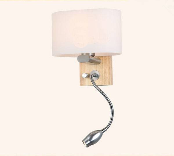 40W E27 wood wall light for home
