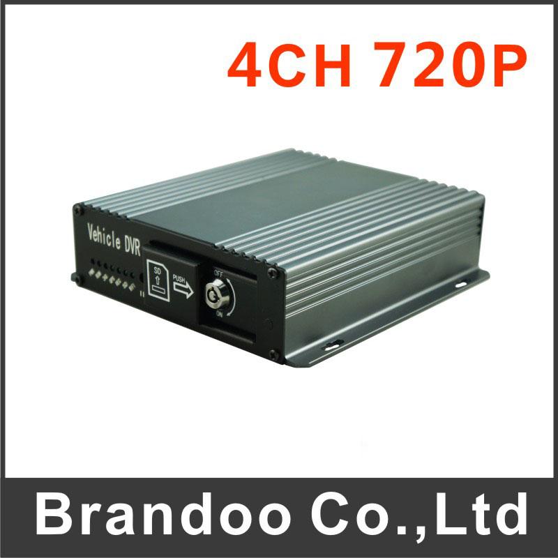 4CH 720P SD CAR DVR Model BD-327