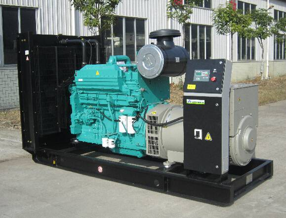 Industrial Power Generator Steyr Engine with Stamford Alternator 125kVA Frequency 50Hz