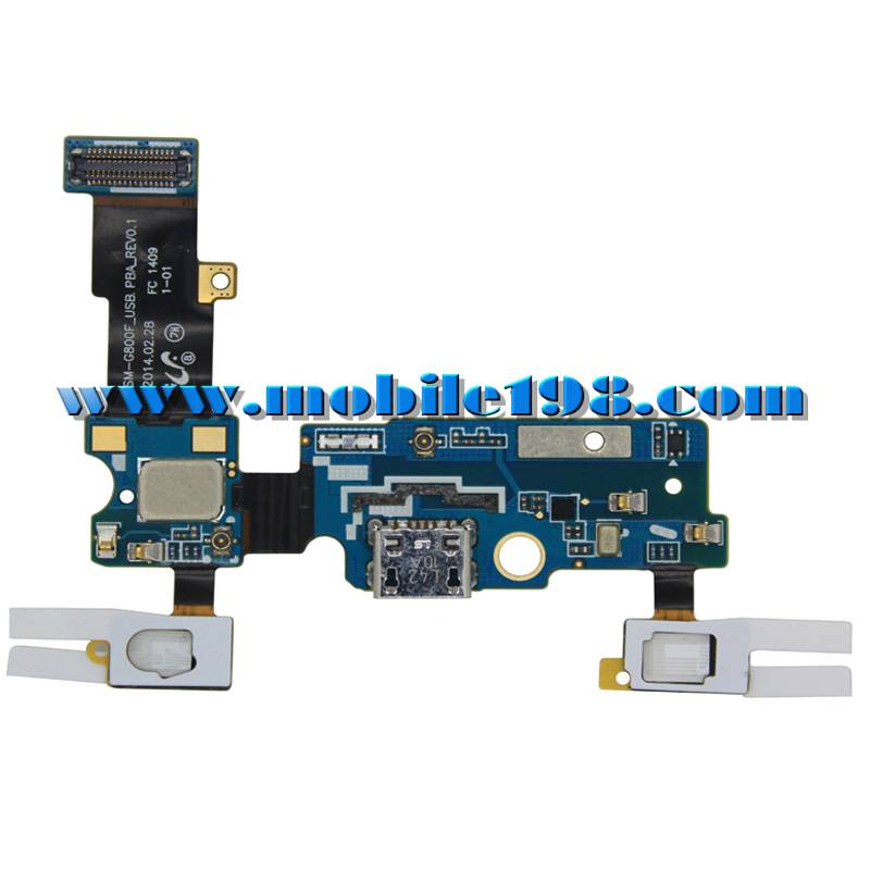 USB Dock Connector Charging Port Flex Cable for Samsung Galaxy S5 Mini Sm-G800f