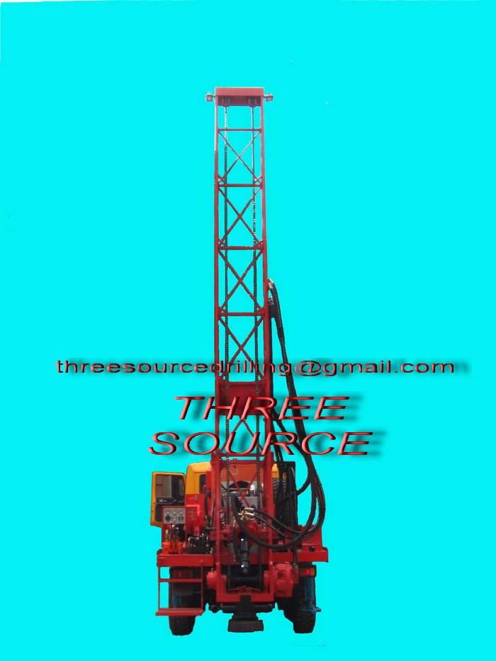 TST-150 truckmounted drilling rig