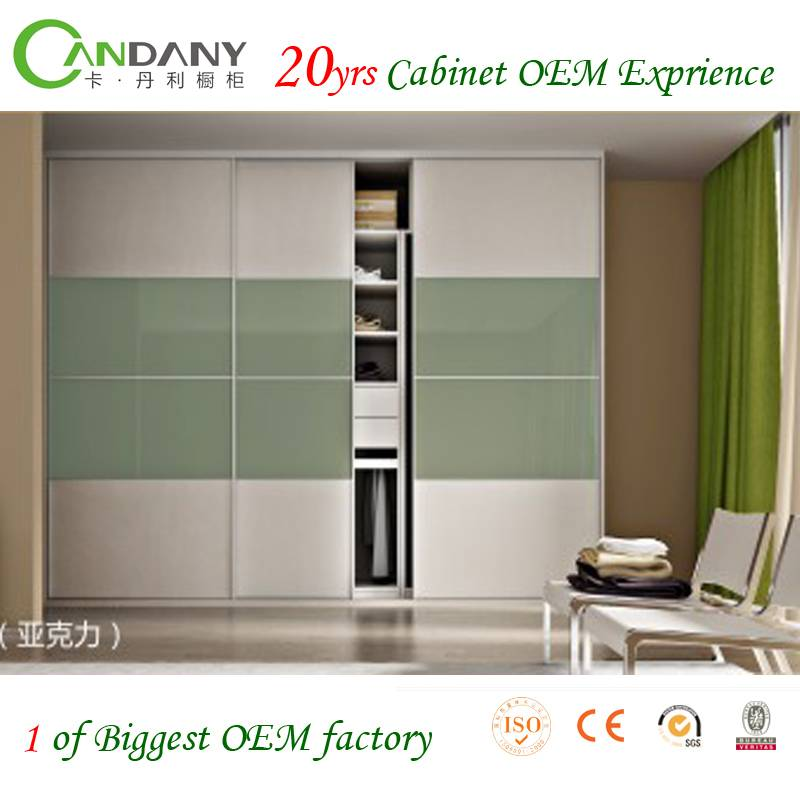 20 Yrs in OEM/ODM Modern Customized Wardrobe Cabinet Euro Hot Sale Home Furniture