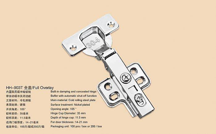 Hydraulic Clip on Cabinet Hinge /concealed hinge /furniture hardware(Built in soft-closing function)