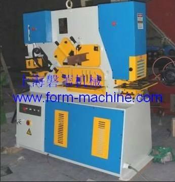 Q35Y Series Hydraulic Iron Worker angle steel cutting machine