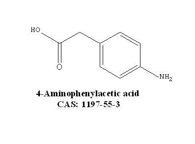 4-Aminophenylacetic acid CAS: 1197-55-3