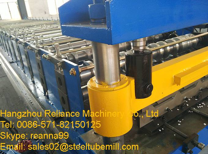 Wall Panel Trapezoidal Steel Sheet Roll Forming Machine