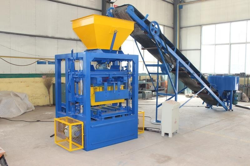 concrete brick and block making machine