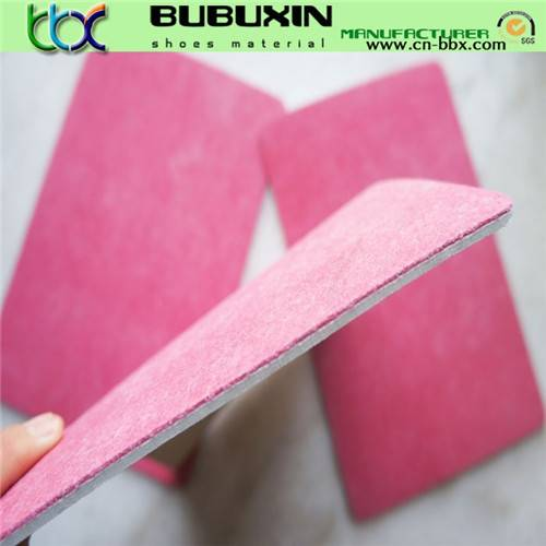 EVA sheet with nonwoven fiber insole board