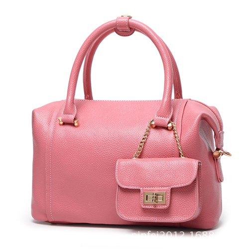 Leather Shoulder Bag PF6337