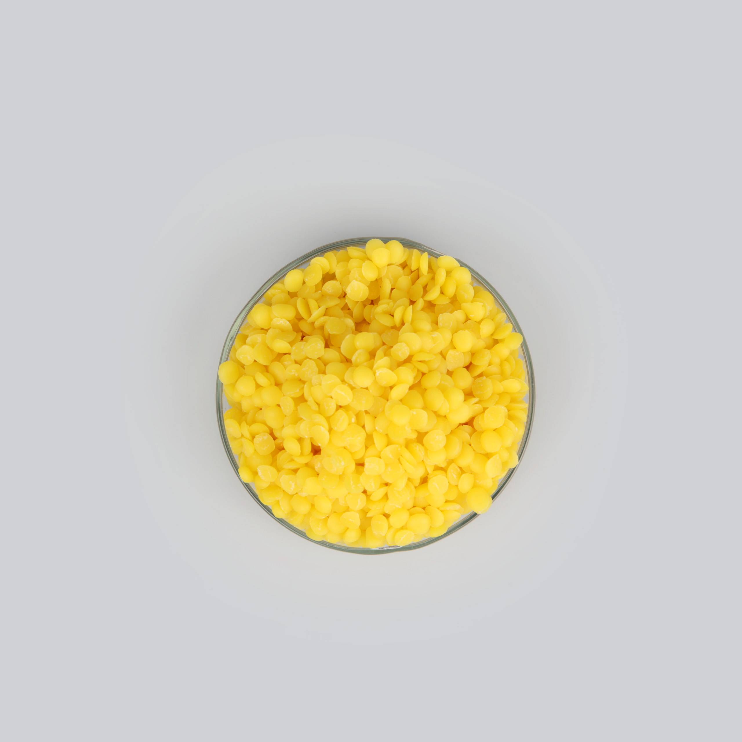 Bulk raw natural yellow beeswax from China