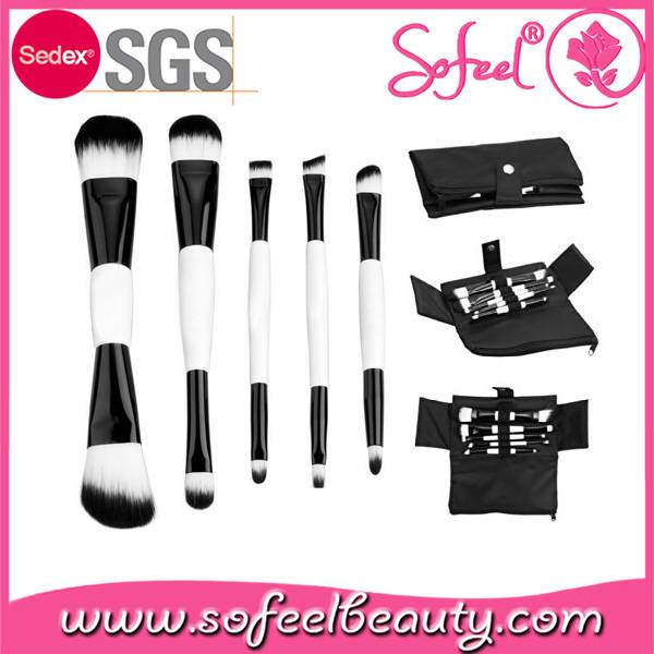 Sofeel hot selling duo-end makeup brush factory wholesale